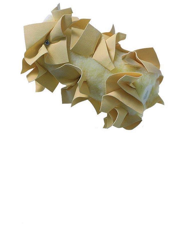 Váleček kožený rozetový Profi - mramorový efekt