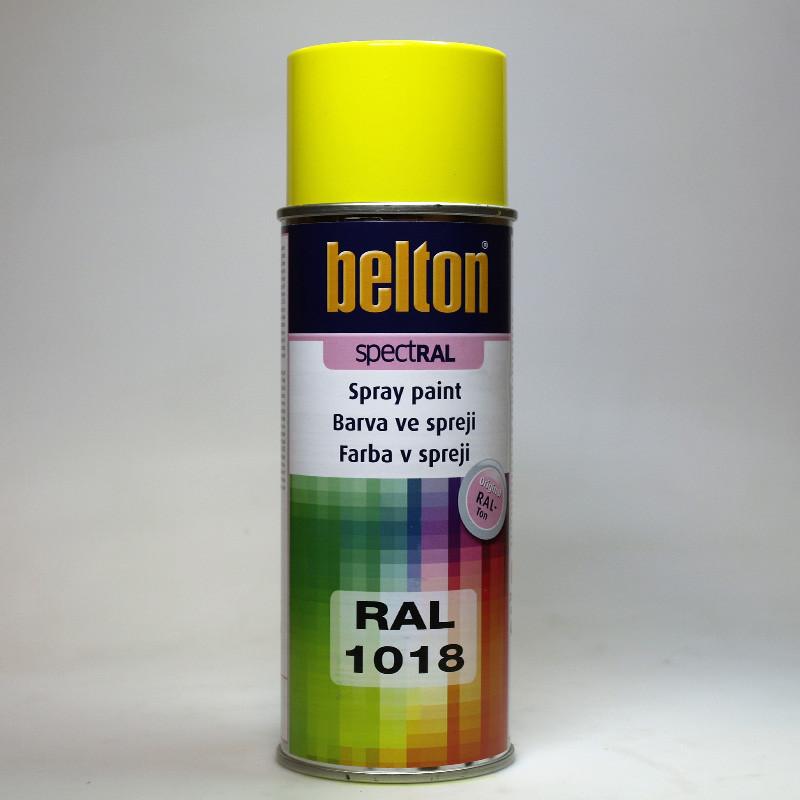 Belton SPECTRAL RAL 1018 žlutá zinková, barva ve spreji
