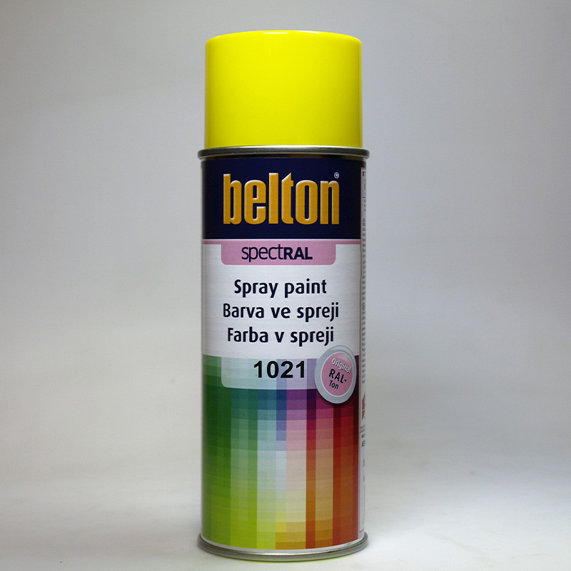 Belton SPECTRAL barva ve spreji RAL 1021 žlutá hořčičná 400 ml