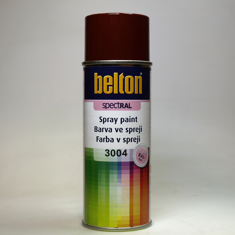 Belton SPECTRAL barva ve spreji RAL 3004 červená purpurová 400 ml