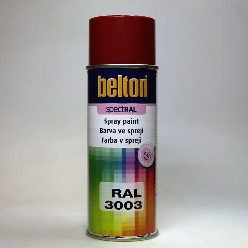 Belton SPECTRAL barva ve spreji RAL 3003 rubínová 400 ml