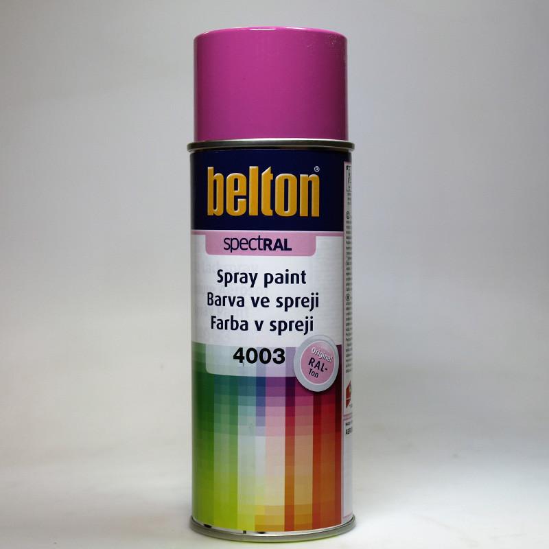 Barva ve spreji Belton SPECTRAL RAL 4003 fialová vřesová