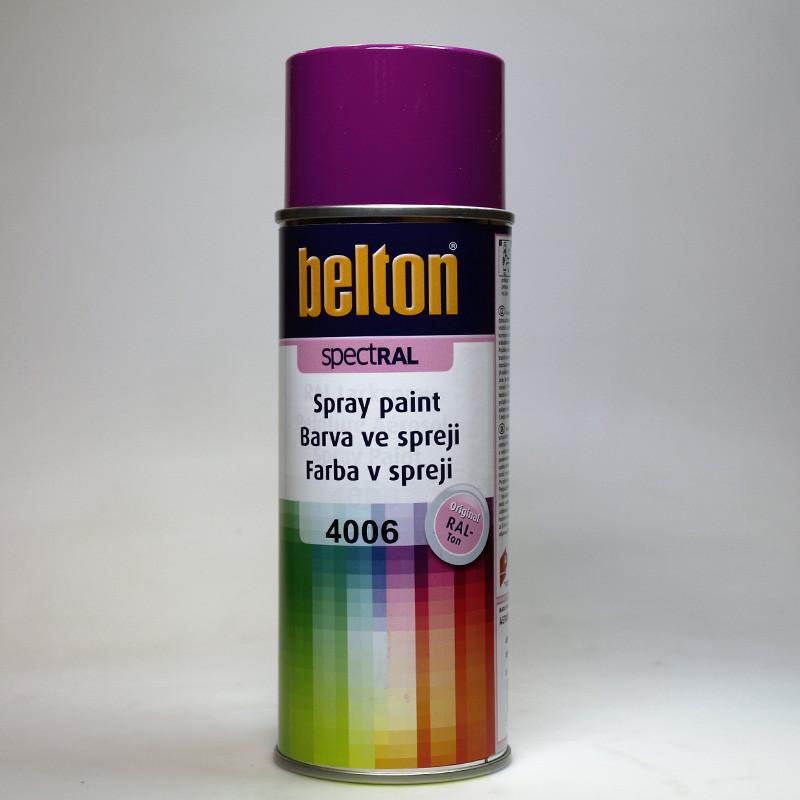 Barva ve spreji Belton SPECTRAL RAL 4006 purpurová
