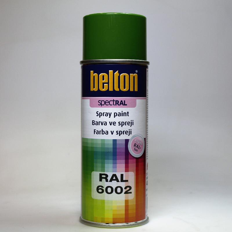 Barva ve spreji Belton SPECTRAL RAL 6002 zeleň listová