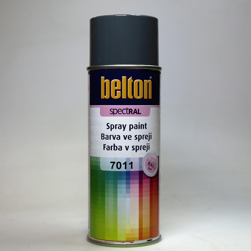 Barva ve spreji Belton SPECTRAL RAL 7011 šedá ocelová