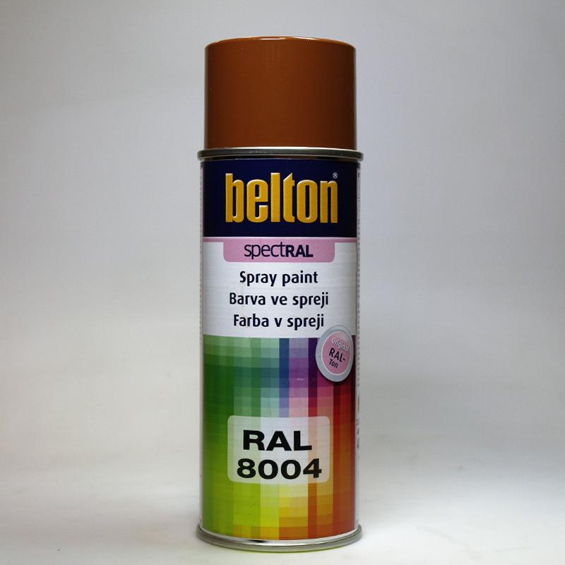 Barva ve spreji Belton SPECTRAL RAL 8004 hnědá měděná