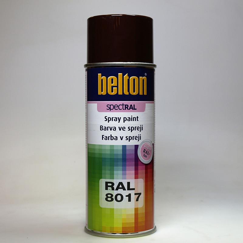 Barva ve spreji Belton SPECTRAL RAL 8017 hnědá čokoládová