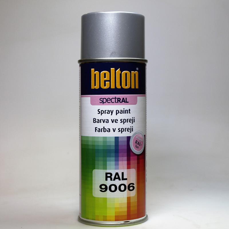 Barva ve spreji Belton SPECTRAL RAL 9006 hliník bílý
