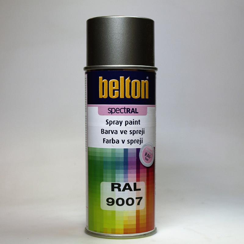 Barva ve spreji Belton SPECTRAL RAL 9007 hliník šedý