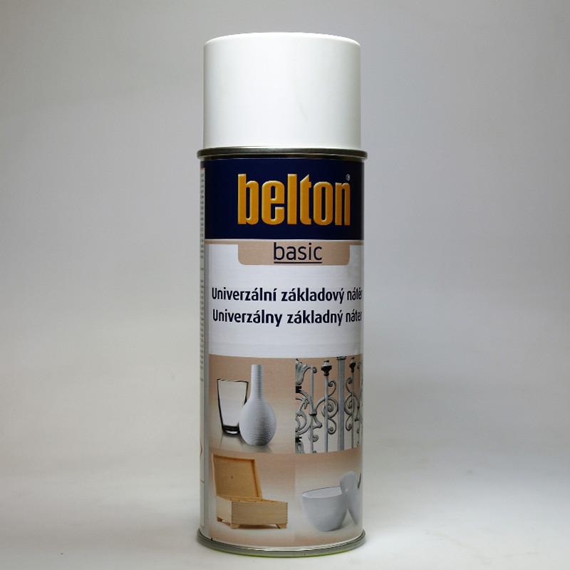 Belton BASIC univerzální základový nátěr ve spreji bílý