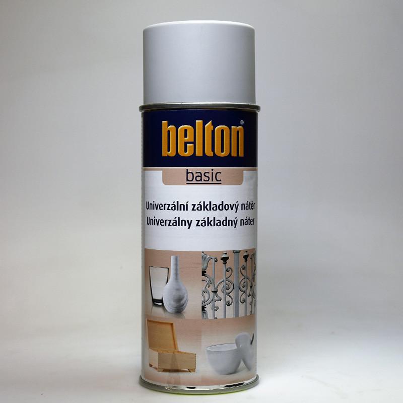 Belton BASIC univerzální základový nátěr ve spreji šedý
