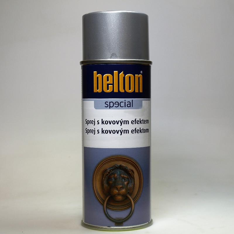 Belton SPECIAL sprej s kovovým efektem stříbrný