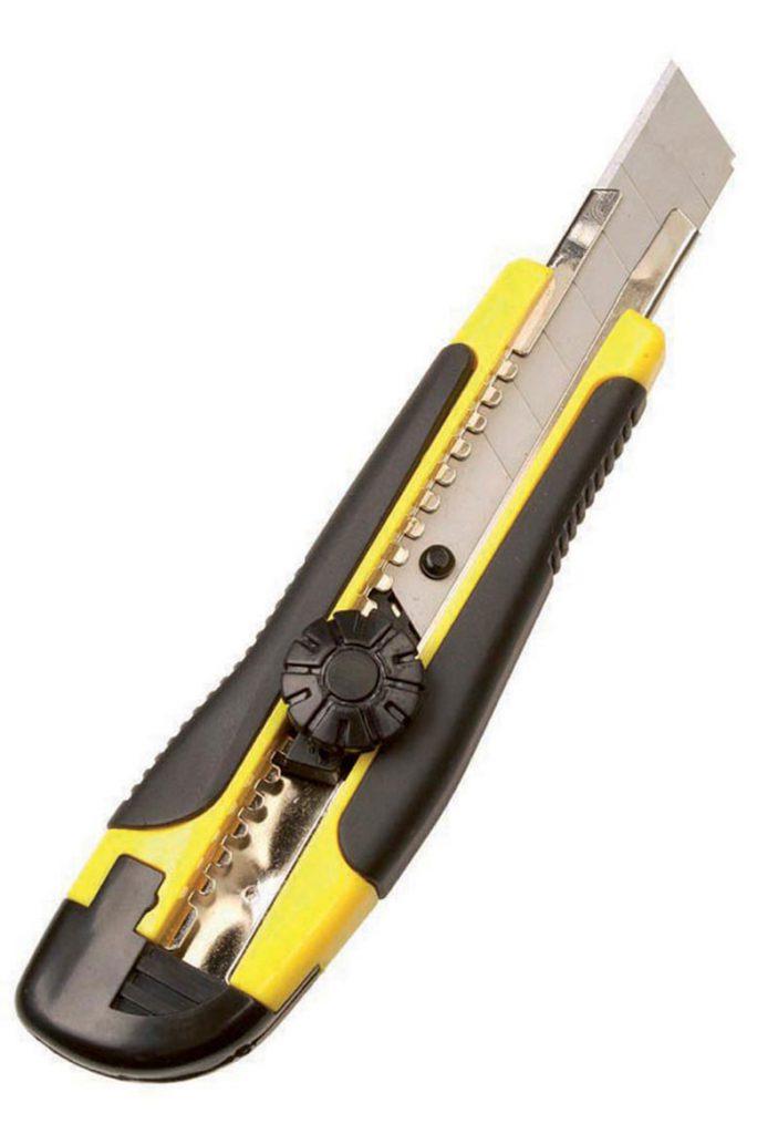 Nůž univerzální s kovovým vedením TWIST-LOCK velký Star
