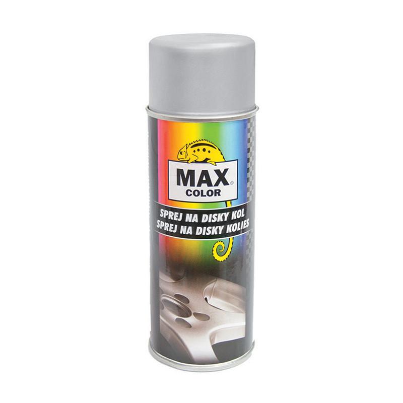 Sprej na disky kol stříbrný MAX COLOR 400 ml