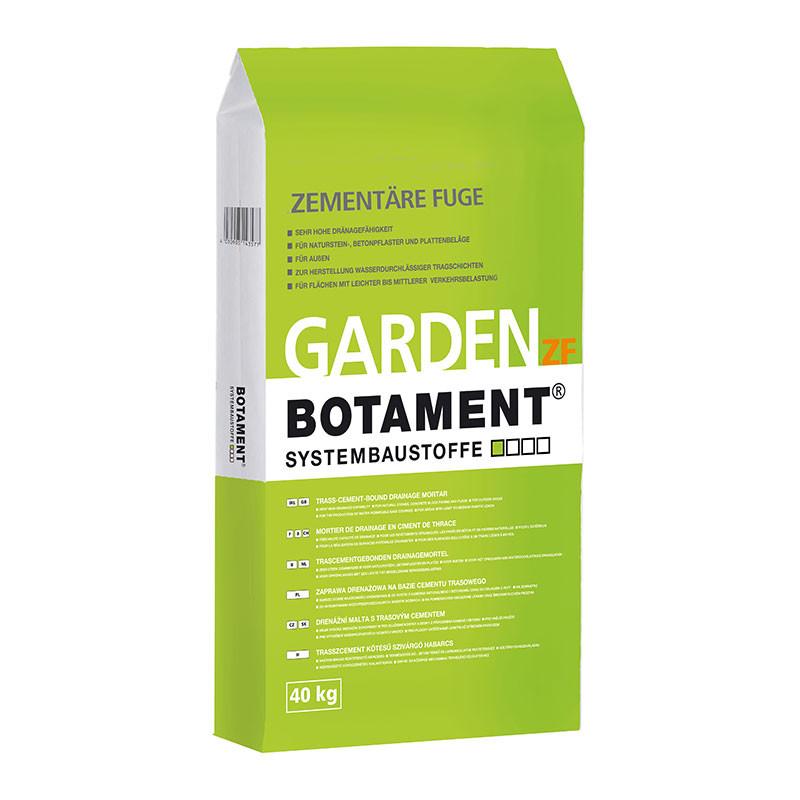 Cementová spárovací hmota pro dlažební kostky BOTAMENT Garden ZF Plus 25 kg