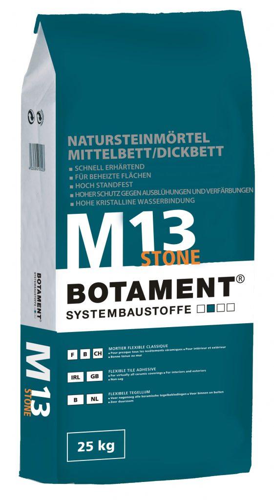 Tmel pro přírodní kameny BOTAMENT M 13 Stone 25 kg