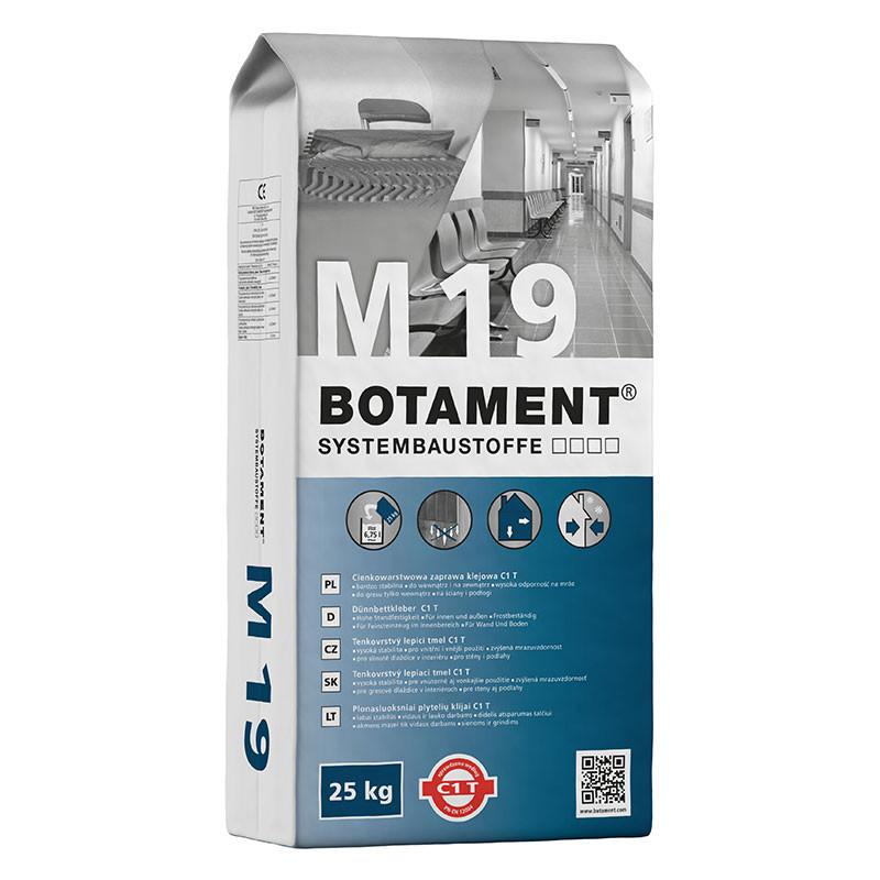 Tenkovrstvý lepicí tmel BOTAMENT M 19 25 kg