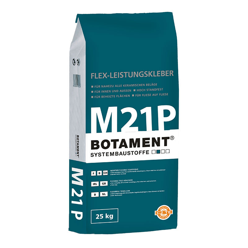 Bílý flexibilní tmel BOTAMENT  M 21 P 25 kg