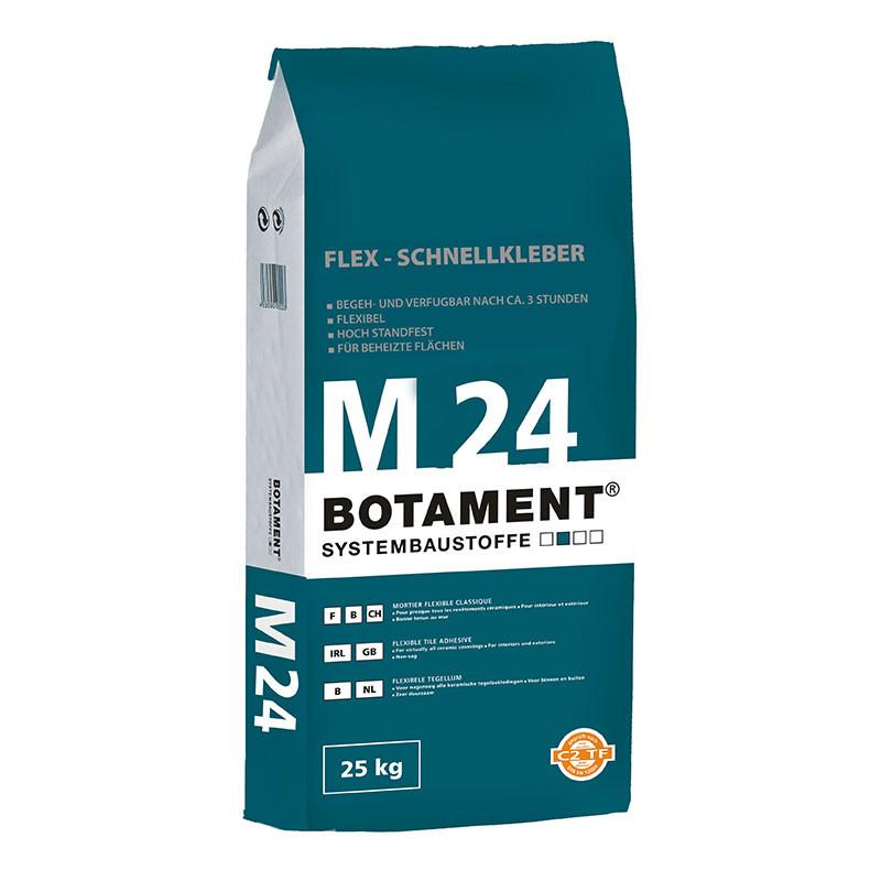 Flexibilní rychleschnoucí lepicí tmel BOTAMENT  M 24 25 kg