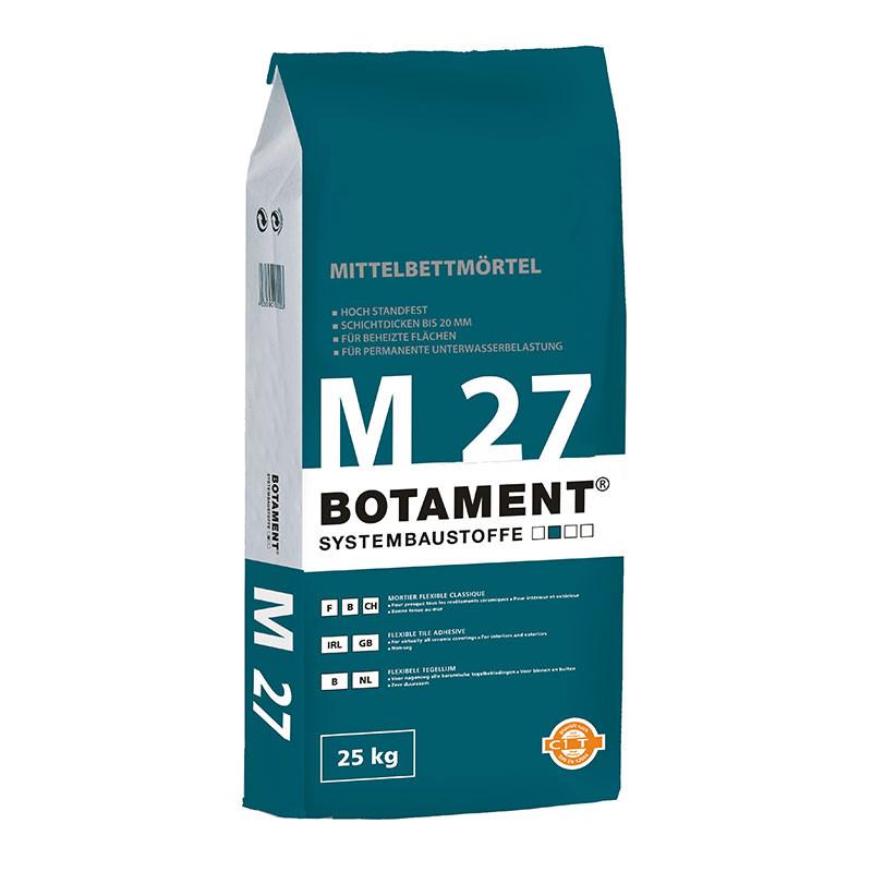 Tmel pro středněvrstvé lepení BOTAMENT M 27 25 kg
