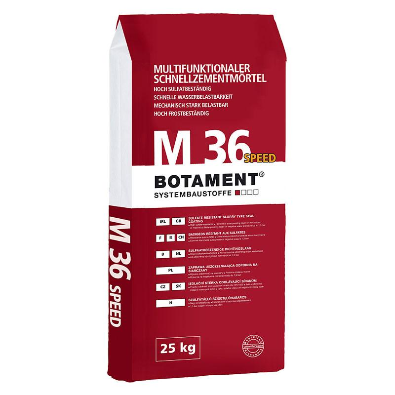 Malta s rychlovazným cementem BOTAMENT M 36 Speed 25 kg