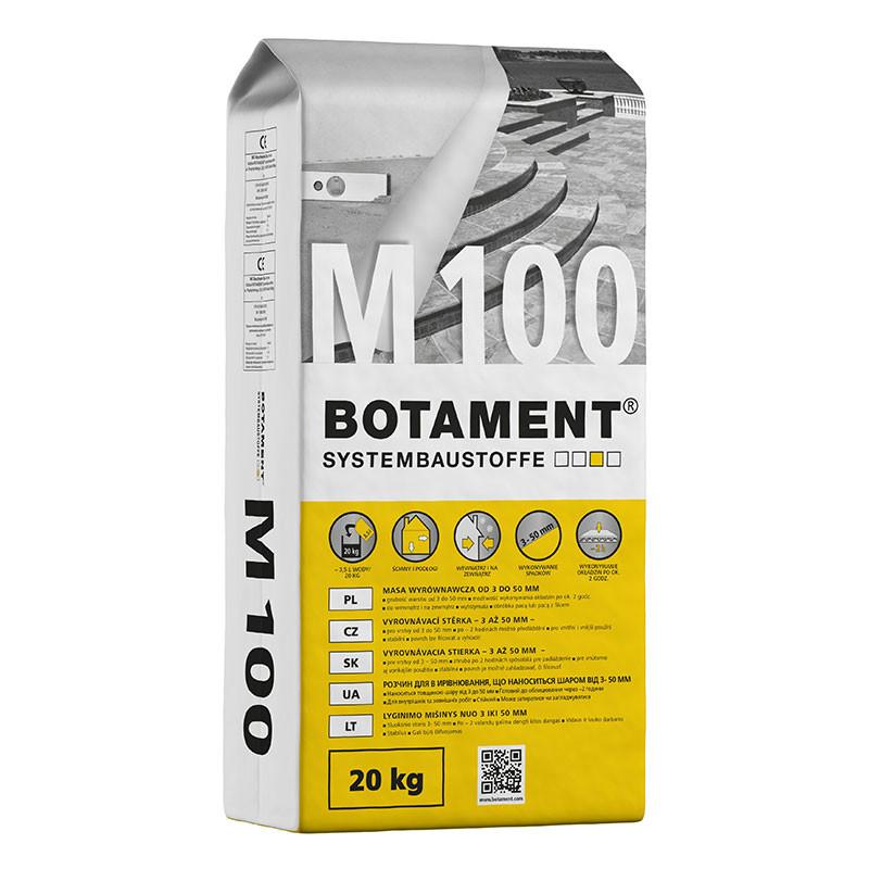 Vyrovnávací stěrka BOTAMENT M 100 20 kg