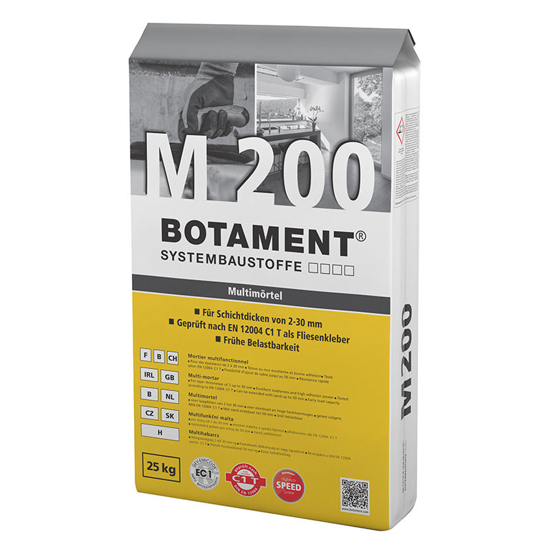 Multifunkční malta BOTAMENT M 200 Multimörtel 25 kg