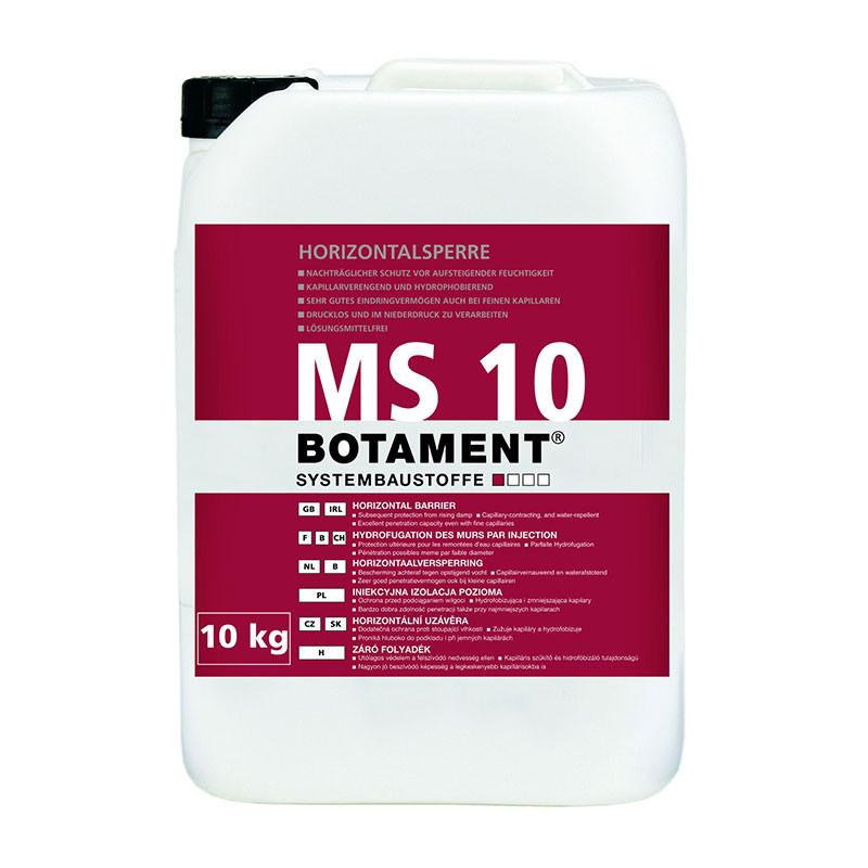 Horizontální uzávěra BOTAMENT MS 10 30 kg