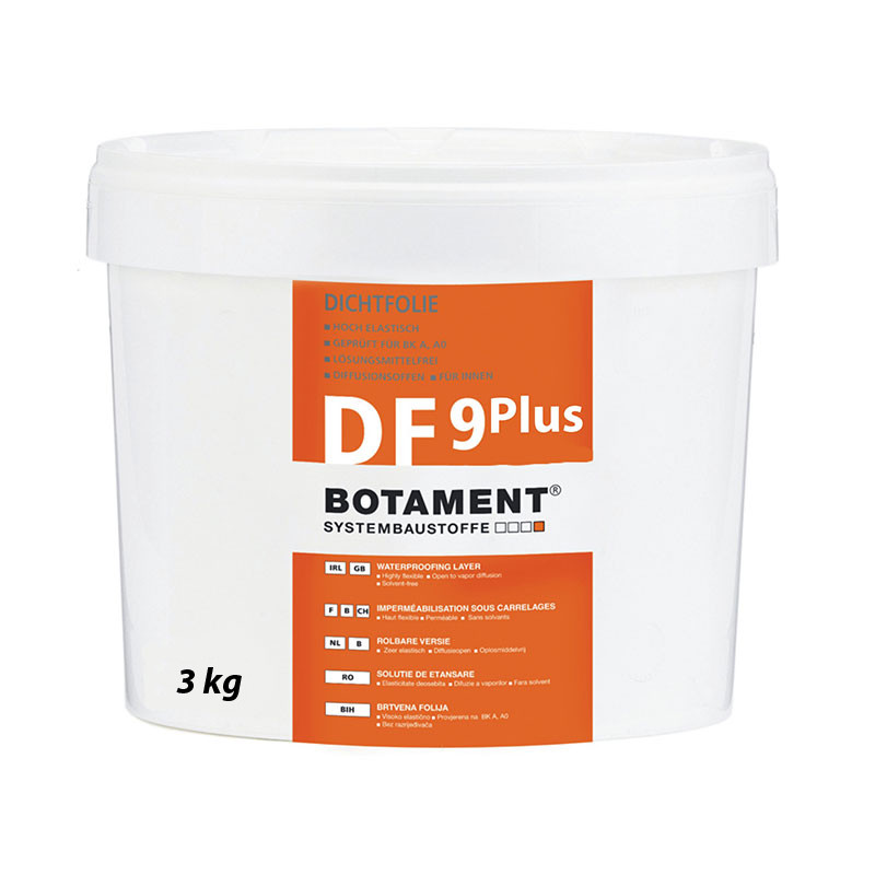 Tekutá izolační fólie BOTAMENT DF 9 Plus 3 kg