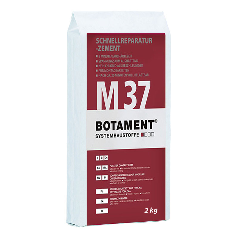 Rychlovazný opravný cement BOTAMENT M 37 2 kg