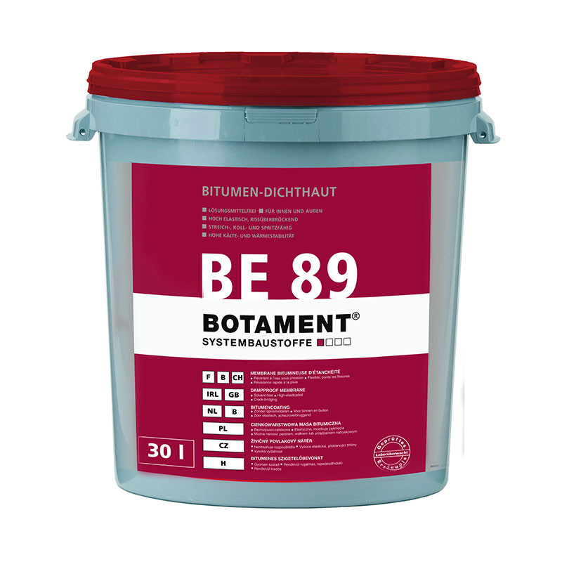 Živičný povlakový nátěr BOTAMENT BE 89 30 l