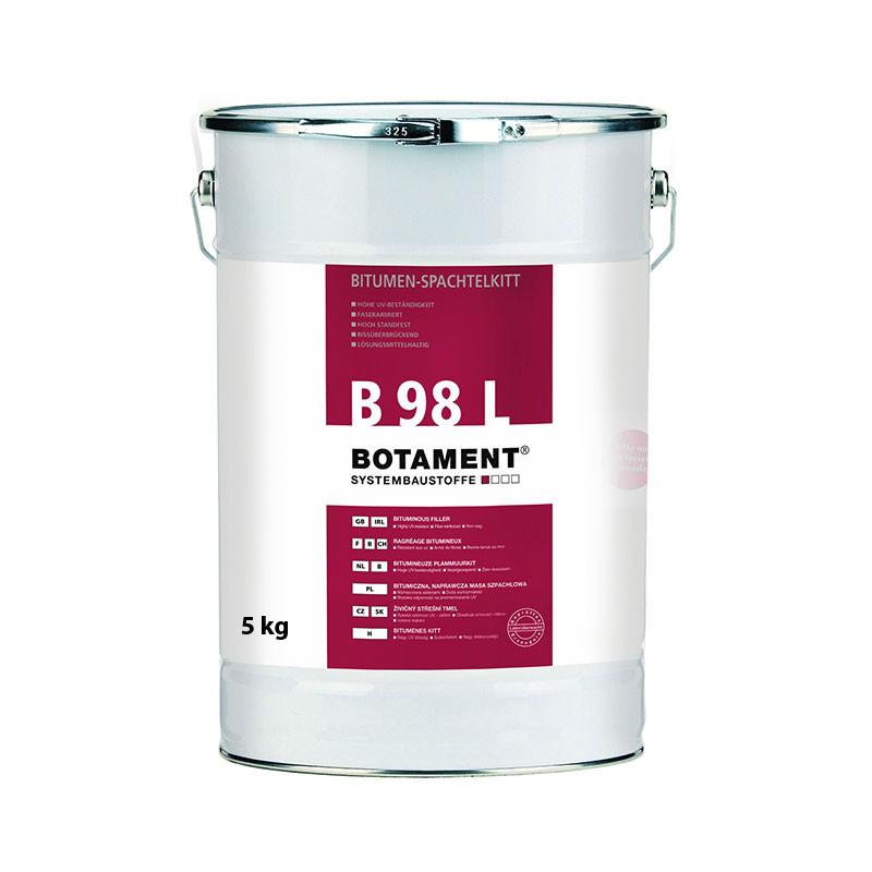 Živičný střešní tmel BOTAMENT B 98 L 5 kg