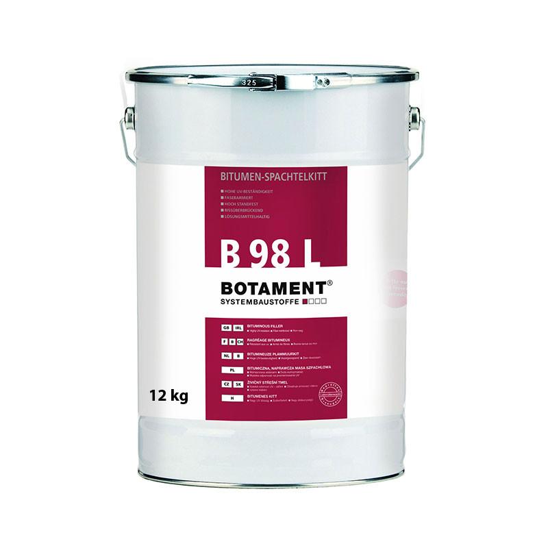 Živičný střešní tmel BOTAMENT B 98 L 12 kg