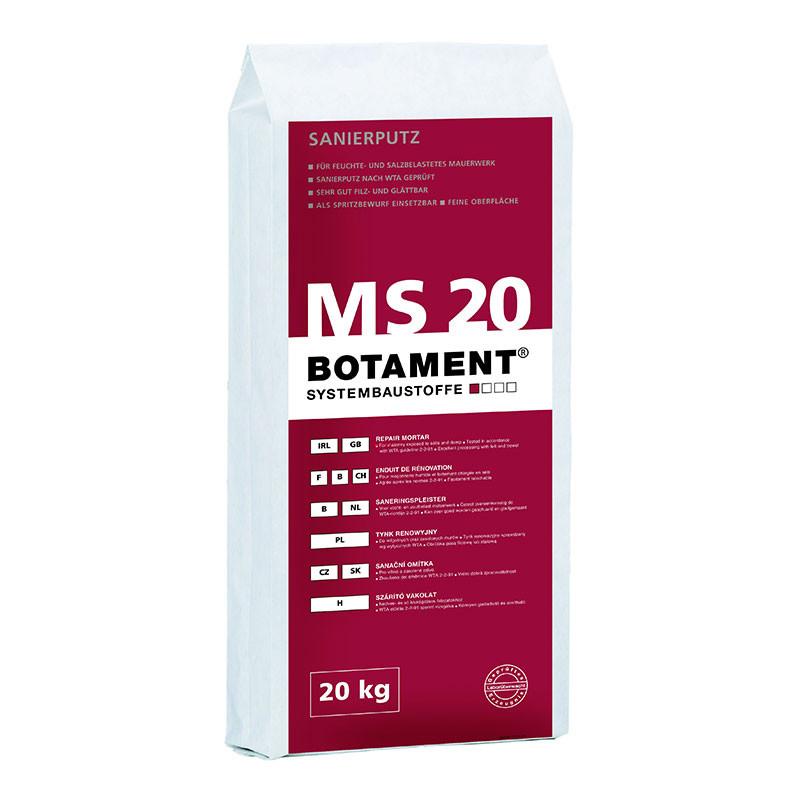 Sanační omítka BOTAMENT MS 20 20 kg