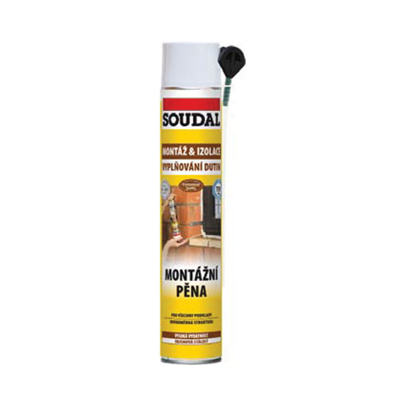 Montážní pěna SOUDAL 500 ml