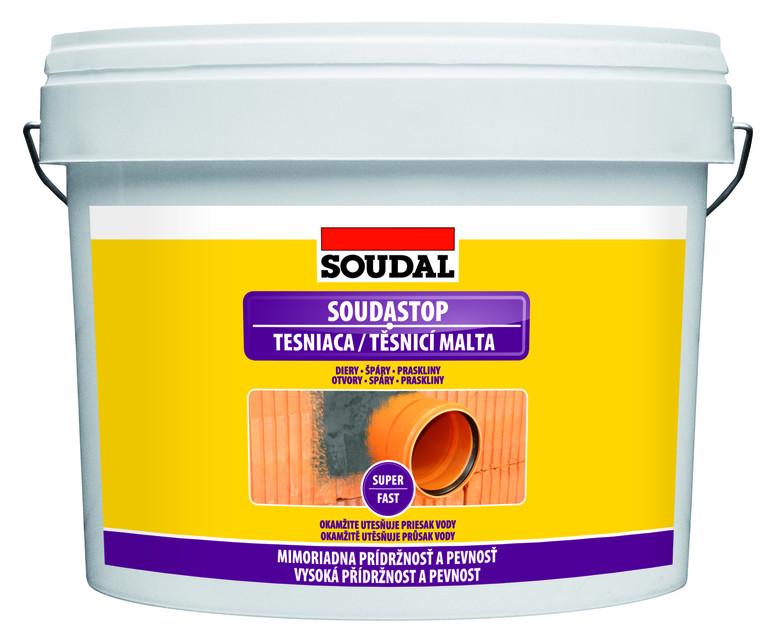 Těsnicí malta SOUDASTOP 4,5kg