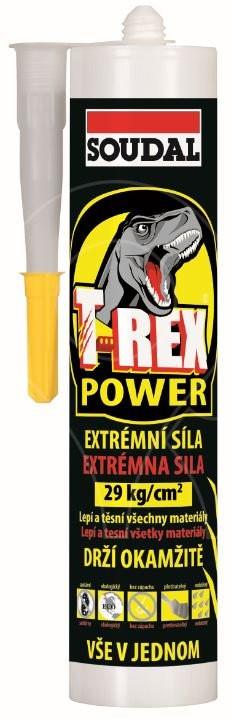 T-REX POWER SOUDAL bílý 290ml
