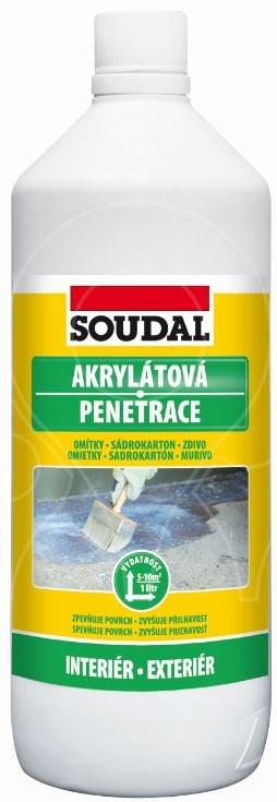 Akrylátová penetrace Soudal 10 l