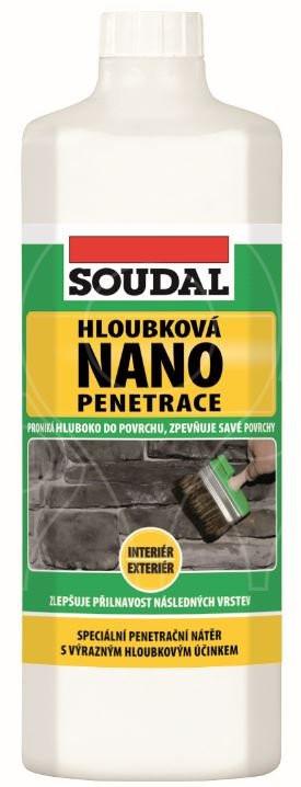Hloubková NANO penetrace Soudal 5 kg