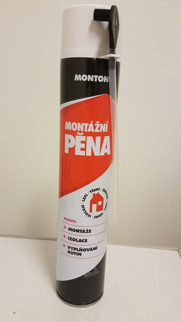 SOUDAL Monton - montážní pěna  750 ml letní