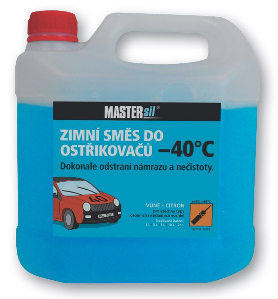 Zimní směs do ostřikovačů -40 °C - 3 l