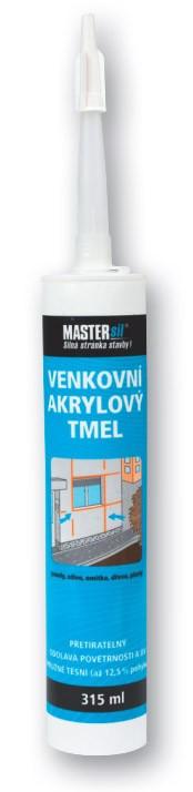 Venkovní akrylový tmel MASTERsil bílý 315 ml