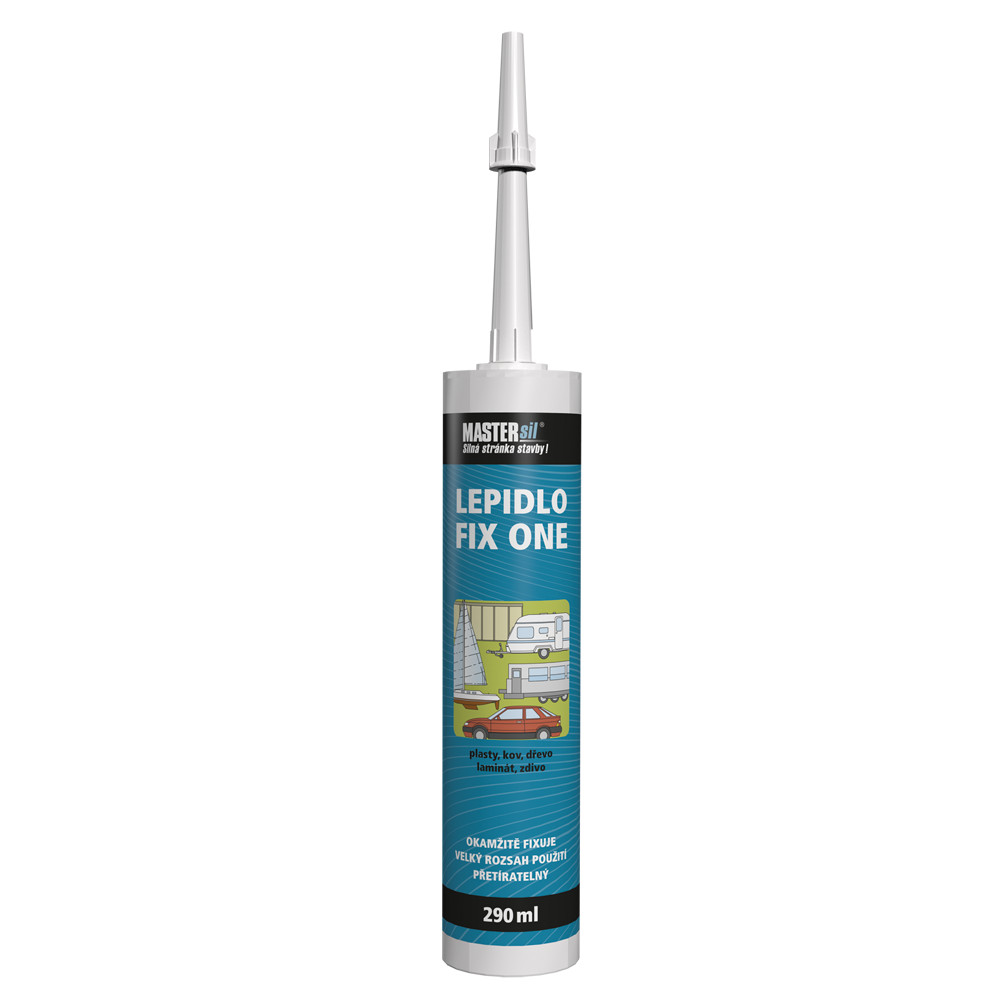 Lepidlo FIX ONE MASTERsil šedé 290 ml