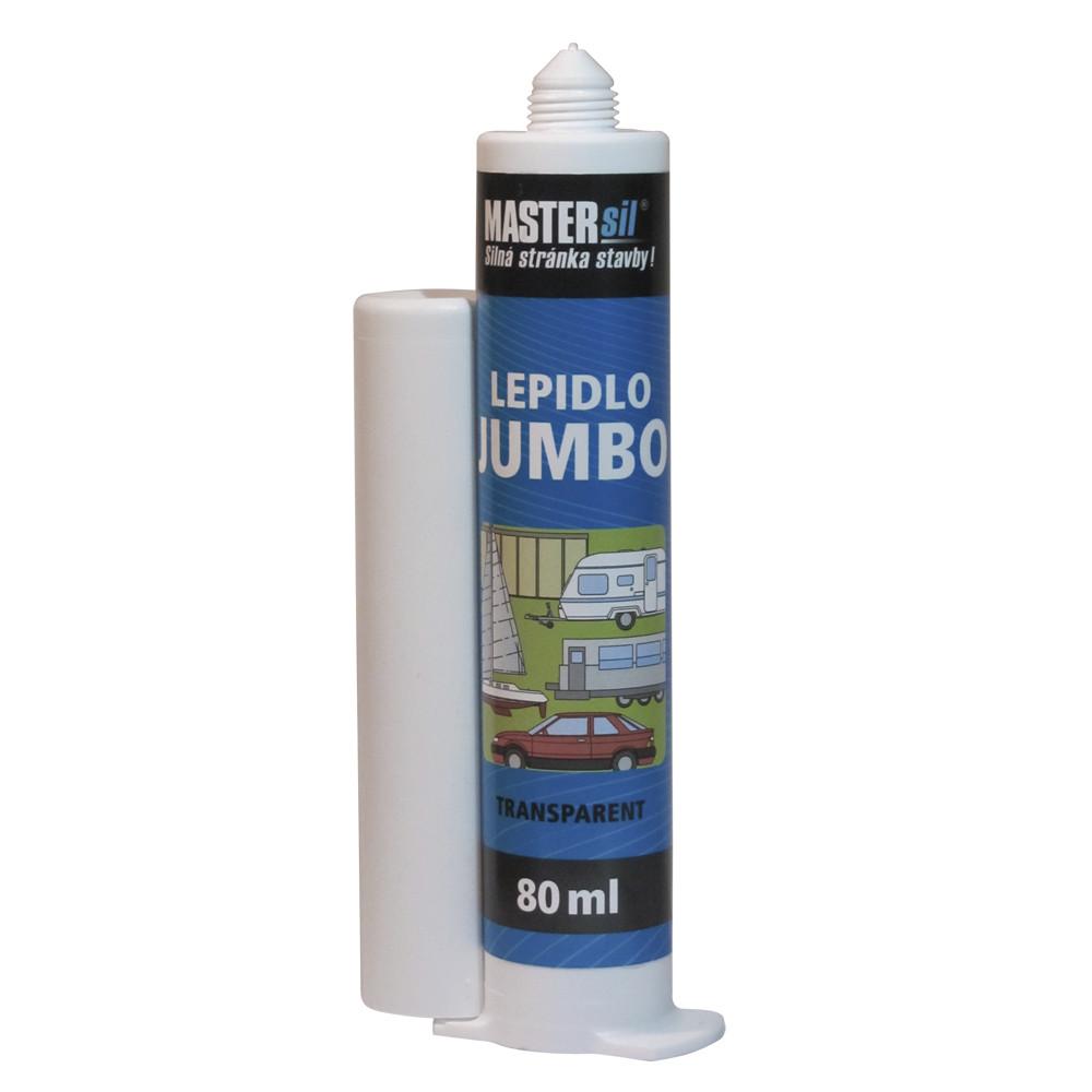 Lepidlo JUMBO TRANSPARENT MASTERsil 80 ml