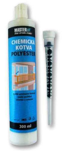 Chemická kotva POLYESTER 410 ml