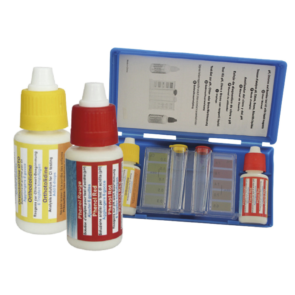 Tester kapkový pH/Cl