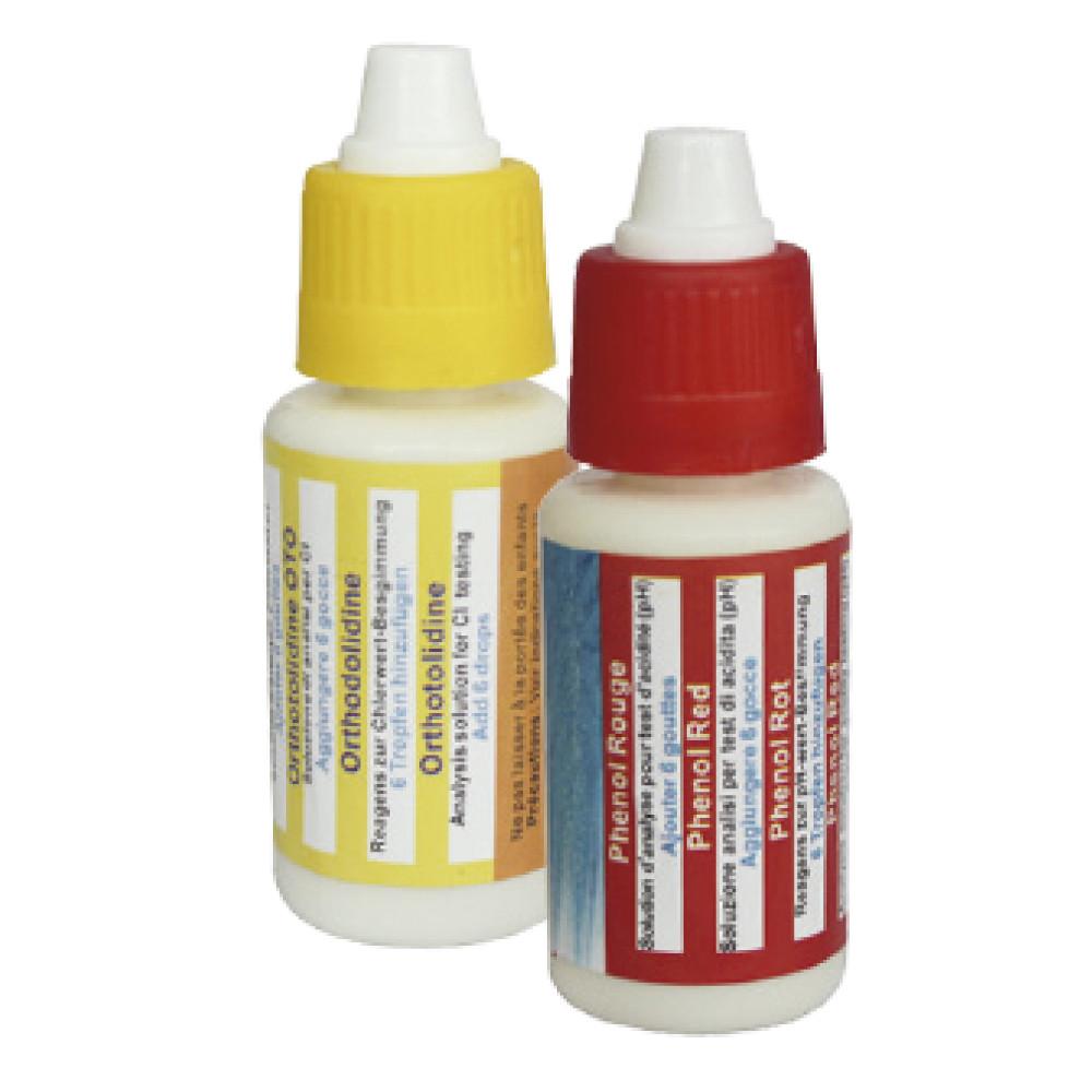 Náhradní kapičky pH/Cl