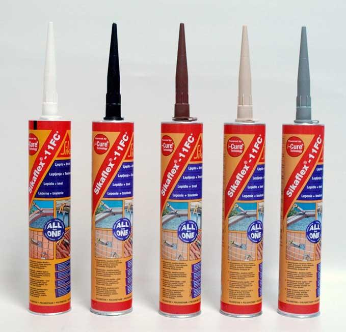 Sikaflex 11 FC+ 300 ml hnědý