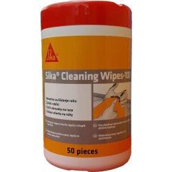 Sika Cleaning Wipes 100 čisticí ubrousky 50 ks