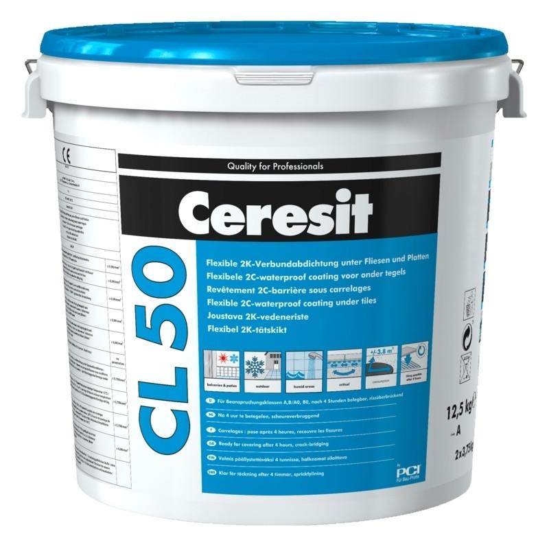Ceresit CL 50 Dvousložková hydroizolace 12,5 kg